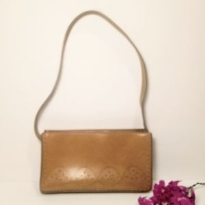 Vintage Mini Shoulder Handbag Light Tan